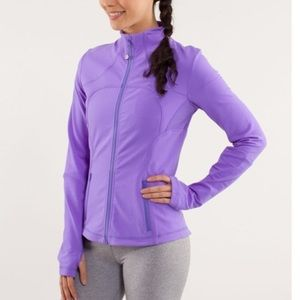 Lululemon Forme Jacket Power Purple Zip Up Sz 6